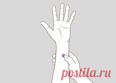 5 волшебных точек: лечим себя простым массажем. Нужно знать, где надавить