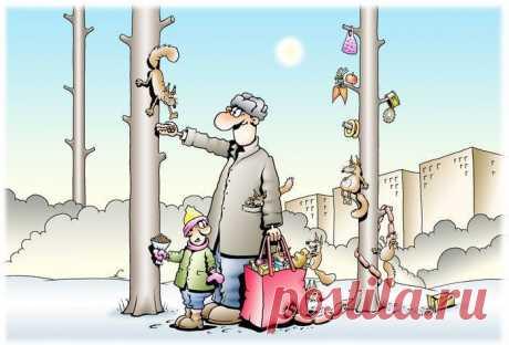 Смешные карикатуры - 19 картинок - Нет скуки - Сайт хорошего настроения