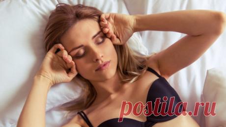 Почему опасно спать вбюстгальтере