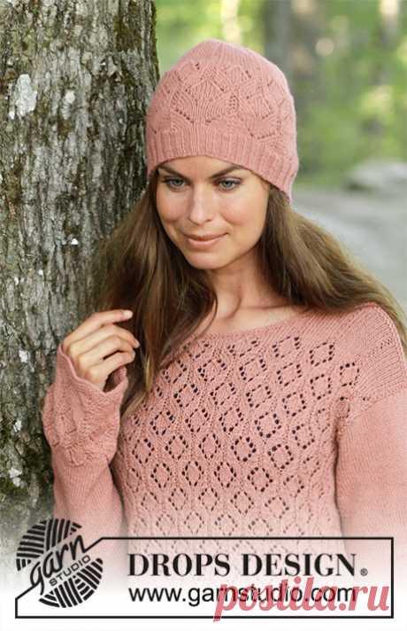 Джемпер и шапка Lady Angelika - блог экспертов интернет-магазина пряжи 5motkov.ru