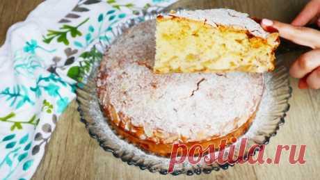 Потрясающий пирог с яблоками Шарлатанка! Выручает, когда лень печь пирожки! — Кулинарная книга
