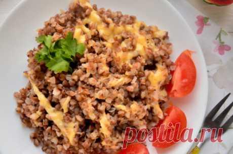 Гречка с сыром: рецепт с фото, очень просто и быстро - Onwomen.ru