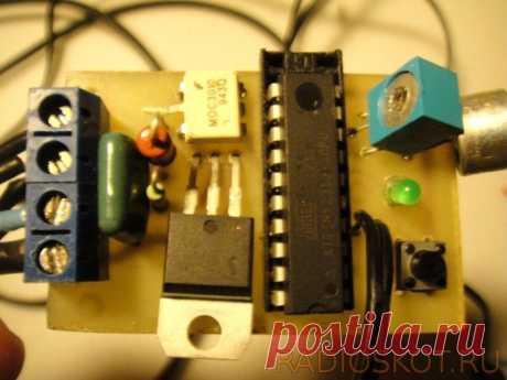 «Умный» переключатель света по хлопку Приветствую, радиолюбители-самоделкины! В сети представлено очень много различных схем акустический выключателей - принцип работы заключается в переключении нагрузки при возникновении акустического сигнала, превышающего определённый порог (например, хлопка в ладоши). Акустические выключатели очень