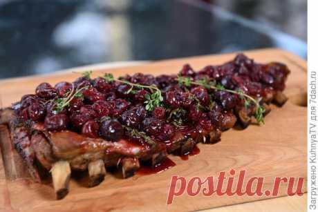 Свиные и говяжьи ребра на гриле с глазурью из ягод: рецепты
