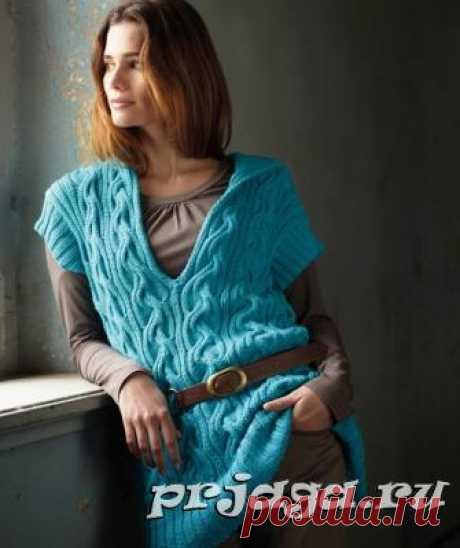 Женская безрукавка и жилет крючком или спицами