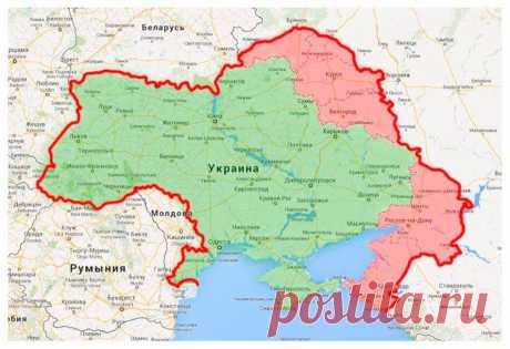 Карта Коломойского: возврат Украине земель, ранее входивших в ее состав | ЖИВОЙ, ЕЩЕ ЖИВЕЕ
