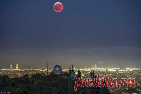 Потрясающие ночные фото, которые напоминают сцены из фантастики