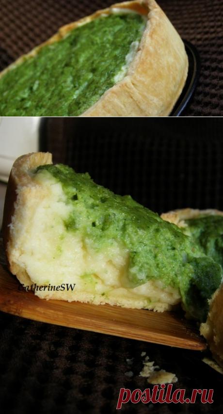 SW: Тарт с картофелем и зеленым горошком