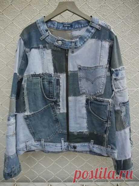 (6) Куртки из старых джинсов. Идеи для творчества - Сам себе мастер - медиаплатформа МирТесен