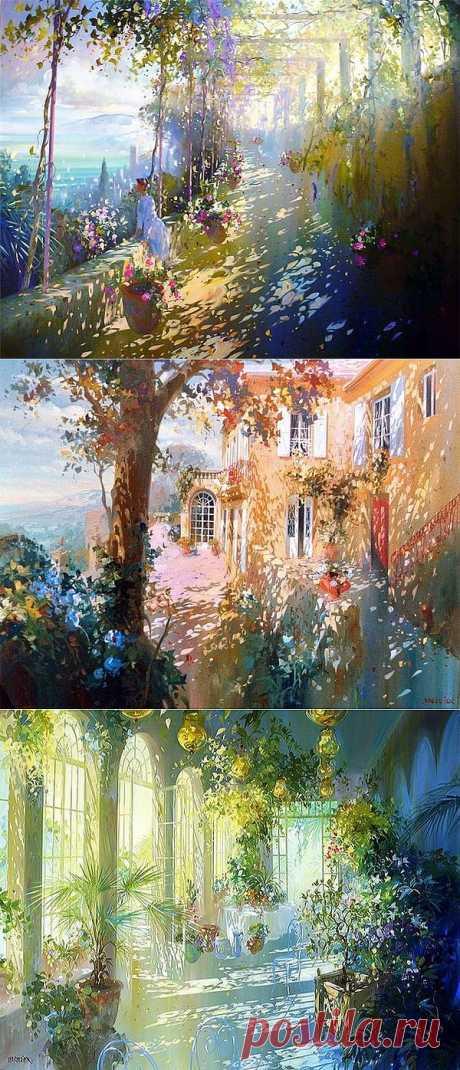 Солнечный художник Лоран Парселье | Искусство