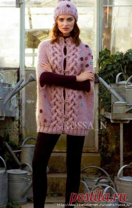 жилеты спицами | Записи в рубрике жилеты спицами | Дневник Elena_Businka