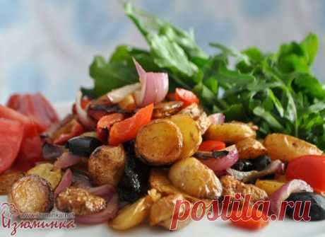 Жареный картофель по-итальянски