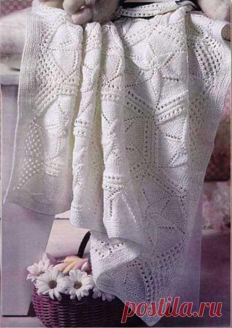 La manta impresionante tejida