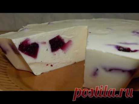 #Еда_для_диабетика_тип2. Торт-желе для праздника.