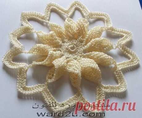 Crochet Flower - Instructables