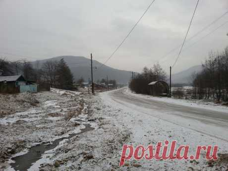 El camino invernal a Manshu | Urup (la región Urupsky) | la Foto el Planeta