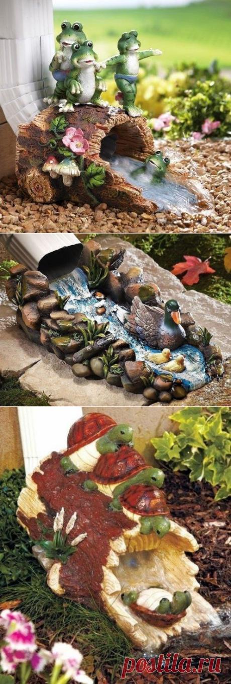 Оригинальный водосток для загородного дома;) | 6 соток