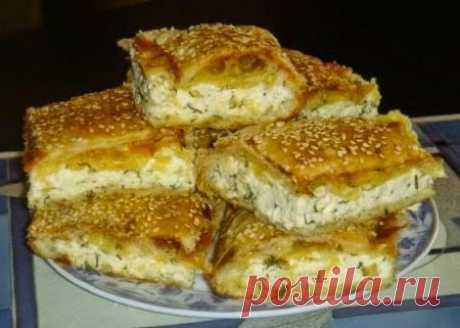 Как приготовить пирог с сыром - рецепт, ингредиенты и фотографии