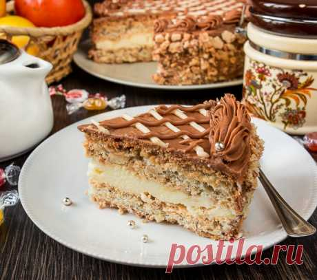 Киевский торт по ГОСТу - вкусные проверенные рецепты, подбор рецептов по продуктам, консультации шеф-повара, пошаговые фото, списки покупок на VkusnyBlog.Ru