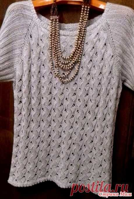 Summer top (spokes) - Knitting - the Country of Mothers
