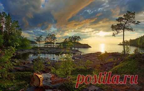 Природа Валаама. Автор фото — Петр Косых, участник фотоконкурса «Незабываемая Карелия»: vk.com/album-24565142_232106582