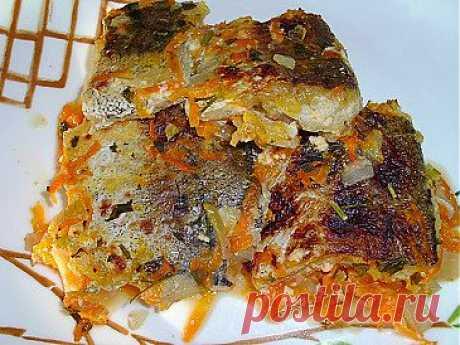 Рыба тушеная в кефирном соусе | Рецепты моей мамы