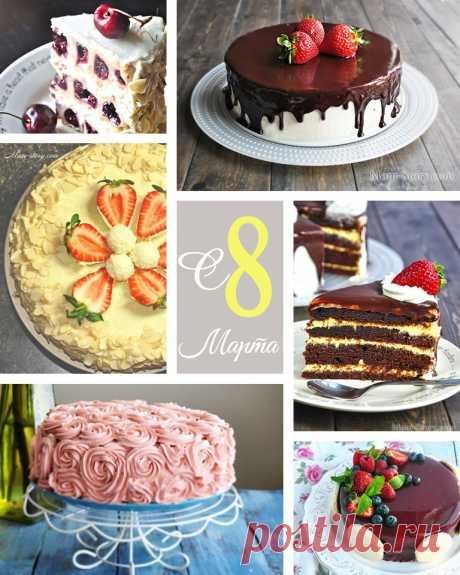 Las recetas de las tortas el 8 de marzo. TOP 10 mejor poshagovyh