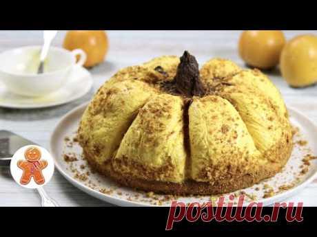 """Торт """"Тыква"""" ✧ Нежный и Очень Вкусный Торт"""