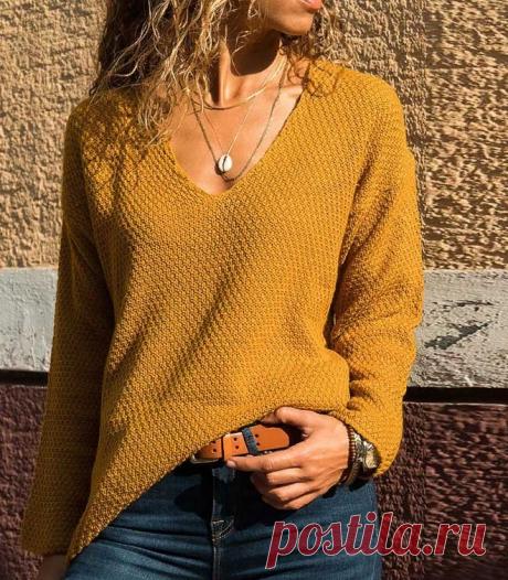 Вяжем стильные пуловеры на зиму спицами | Фото и схемы | Вязание и рукоделие от Софьи | Яндекс Дзен