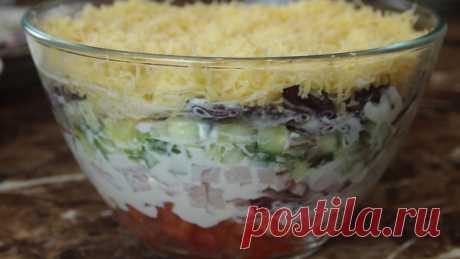 Салат красотка – пошаговый рецепт с фотографиями