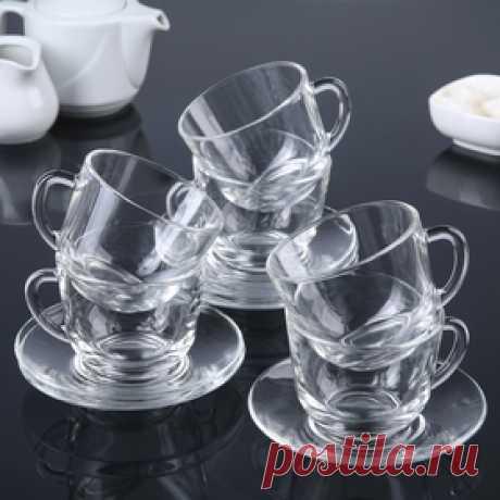 """Чайный набор """"Гламур"""", 12 предметов Цена: 435.00 руб. Закажите прямо сейчас!"""