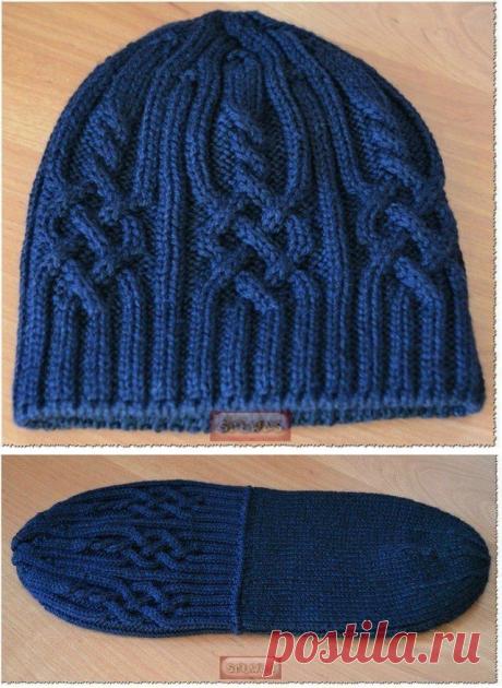 Важная деталь для вязания шапки спицами