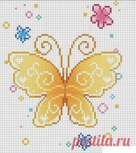 Схемы бабочек