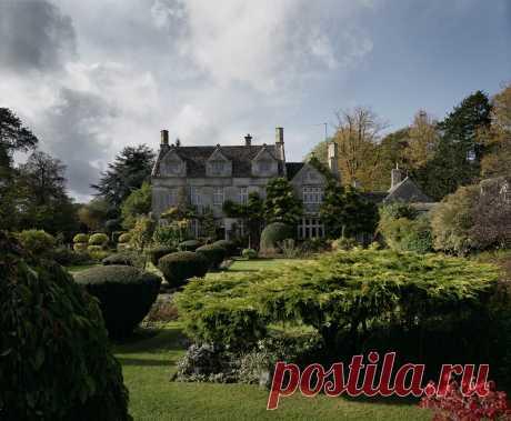 Barnsley House and Gardens (Англия, Cirencester, Gloucestershire)