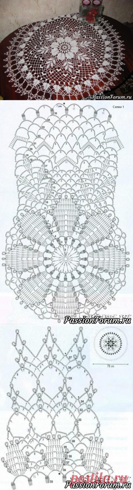 Люблю вязать салфетки крючком-3 - запись пользователя Александр (Александр) в сообществе Вязание крючком в категории Вязаные крючком аксессуары