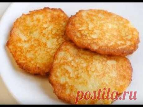 Картофельные драники, безумно вкусные, секреты приготовления такой рецепт вы еще не пробовали