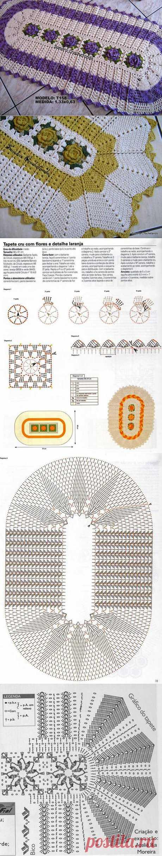 Вязание для дома - коврики..