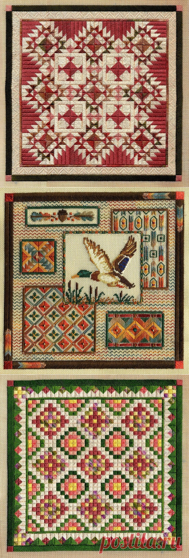 вышивка bargello - Самое интересное в блогах