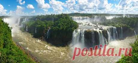 10 самых грандиозных водопадов в мире / Туристический спутник