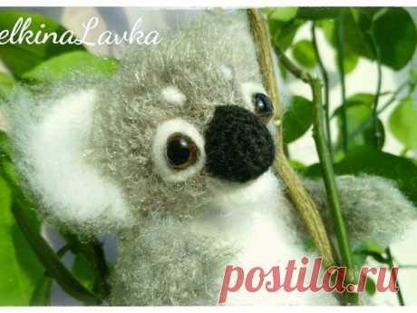 Мастер-класс смотреть онлайн: Мастер-класс по созданию вязаного коалы | Журнал Ярмарки Мастеров