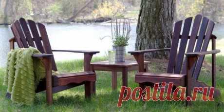 Деревянные стулья для дачи и сада из того, что под рукой Приобретение дачного участка подталкивает к творчеству. Особенно, что касается дизайна дачного участка и конкретно мебели. Есть несколько идей, какие стулья для дачи и сада можно изготовить из материа...