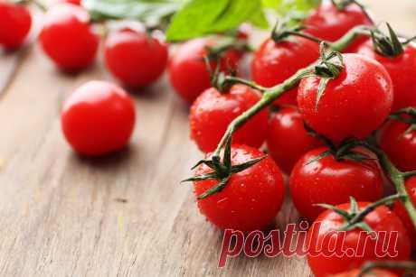 Как сажать помидоры черри: cosygarden