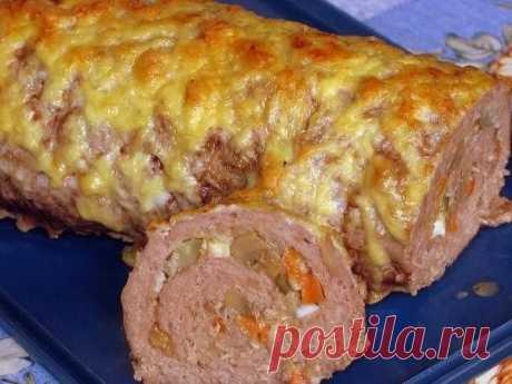 Мясной рулет «Удиви гостей» — Вкусно ем — Домашняя кулинария