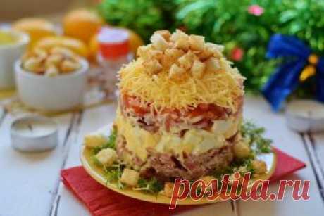 Четыре вкусных мясных салата: муж в восторге!