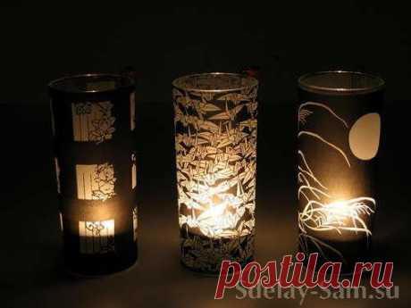 Делаем декоративный светильник и абажур своими руками   Ваш Дом