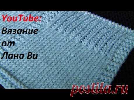 БЕЗУПРЕЧНОЕ вязание спицами👌Нашла способ вязать классические петли РОВНО. Вяжем спицами красиво!