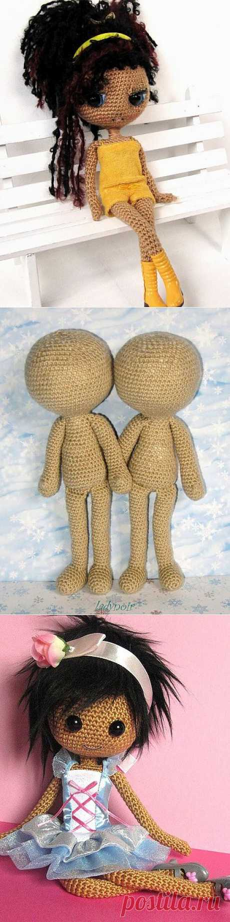 Вязаные куколки амигуруми (образы).