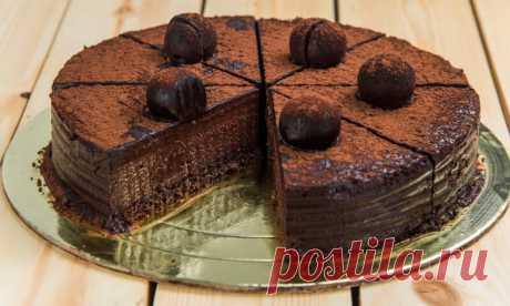 Самый шоколадный торт Трюфель | Pentad