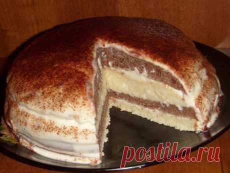 cake on kefir