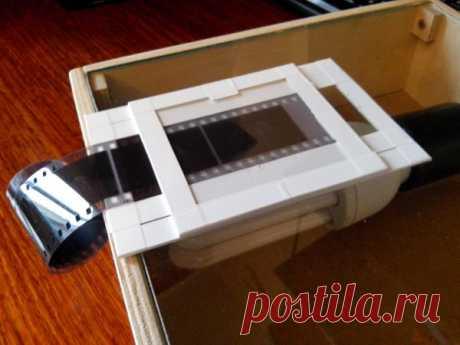 Сканируем старые фотоплёнки (негативы) в домашних условиях